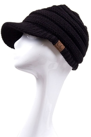 C.C. Knitted Brim Hat - Product Mini Image