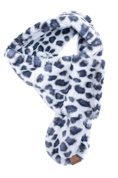 C.C. Leopard Print Scarf - Alternate List Image