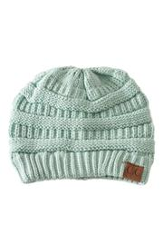 C.C. Mint Knit Beanie - Product Mini Image