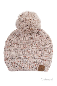 C.C. Ombre Pom-Pom Beanie - Alternate List Image