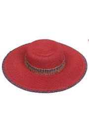 C.C. Red Straw Hat - Product Mini Image