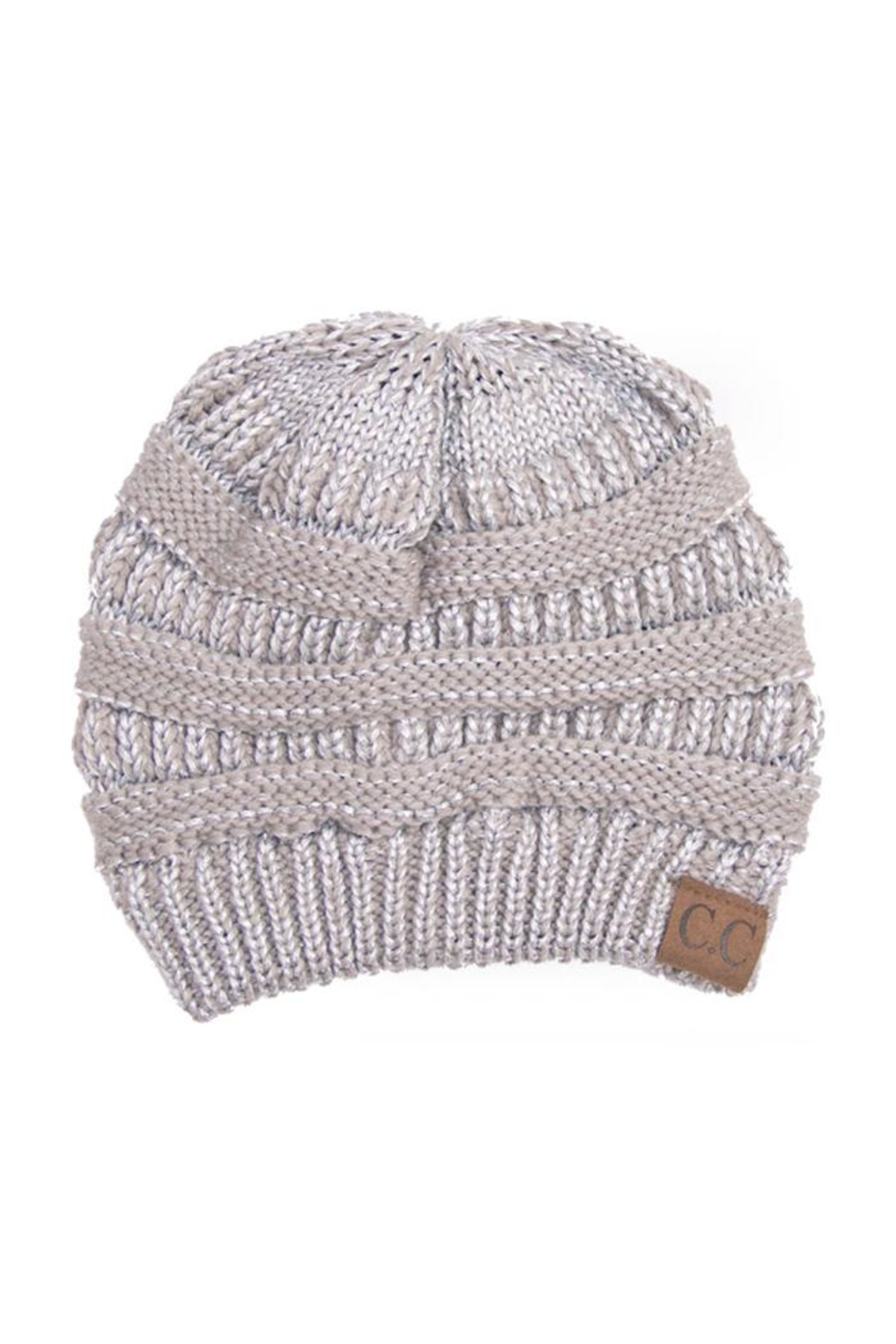 C.C. Sparkle-N-Shine Beanies - Front Cropped Image