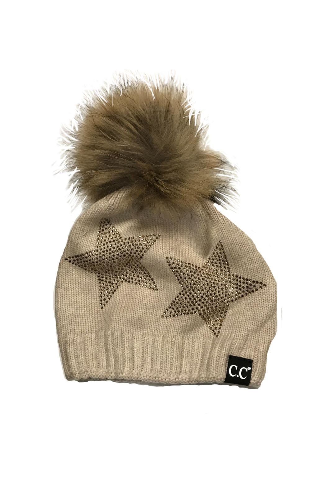 C.C. Star Dazzled Hat - Front Cropped Image