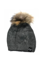 C.C. Star Dazzled Hat - Front cropped