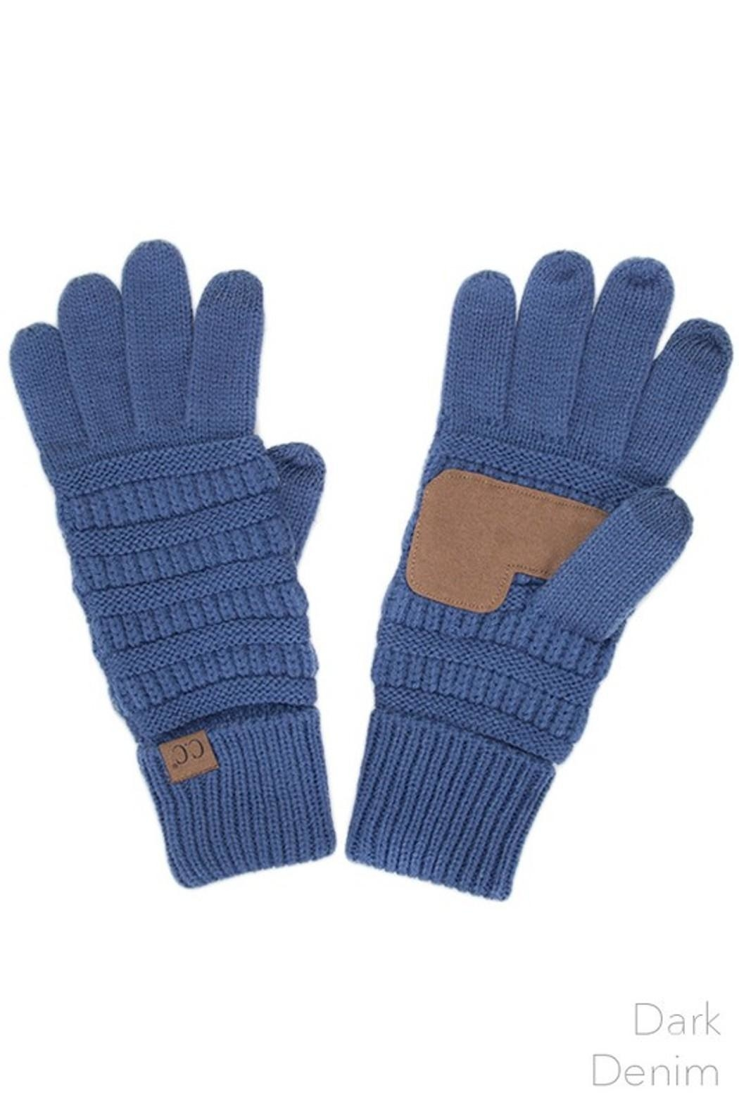 C.C. Touch Screen Gloves - Main Image