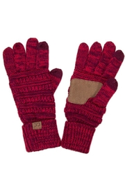 C.C. Touchscreen Compatible Gloves - Front cropped