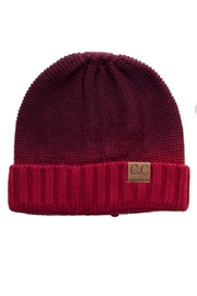 C.C. Two Tone Beanie - Front cropped