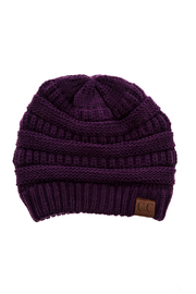 C.C. Scarf Hat Set - Front cropped