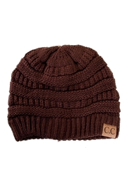 C.C Beanie Cable Knit Beanie - Product Mini Image