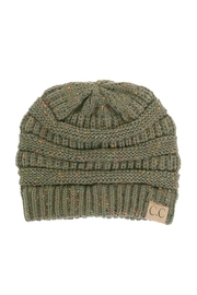 C.C Beanie Cable Knit Hat - Product Mini Image
