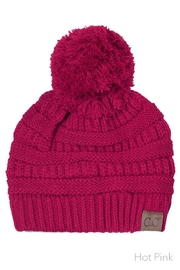 C.C Beanie Knitted Beanie Knit-Pom - Product Mini Image