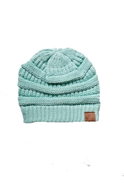 C.C Beanie Mint Cable Beanie - Product Mini Image