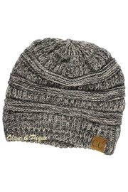 C.C Beanie Multi-Ribbed Knit Beanie - Front cropped