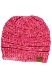 C.C Beanie Multi-Ribbed Knit Beanie - Product Mini Image