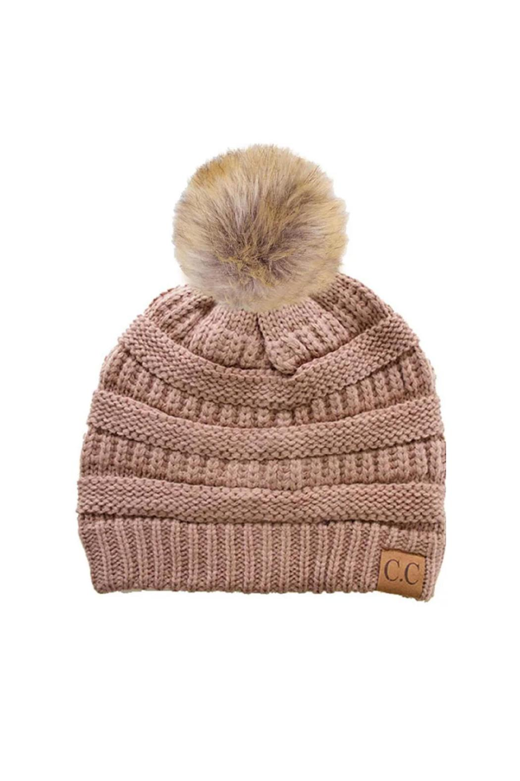 C.C Beanie The Janet Beanie - Front Cropped Image