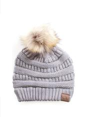 C.C Beanie The Janet Beanie - Front cropped