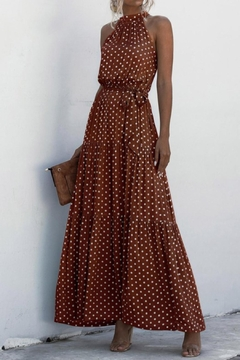 C+D+M Polkadot Maxi Dress - Product List Image