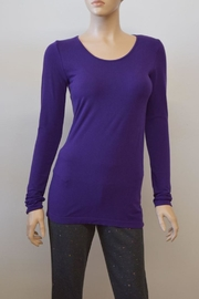 C'est Moi Bamboo Blend Tee - Front cropped