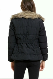 C'est Moi Quilted Fur Jacket - Side cropped