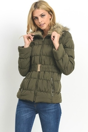 C'ESTTOI Lightly-Padded Fur Parka - Product Mini Image