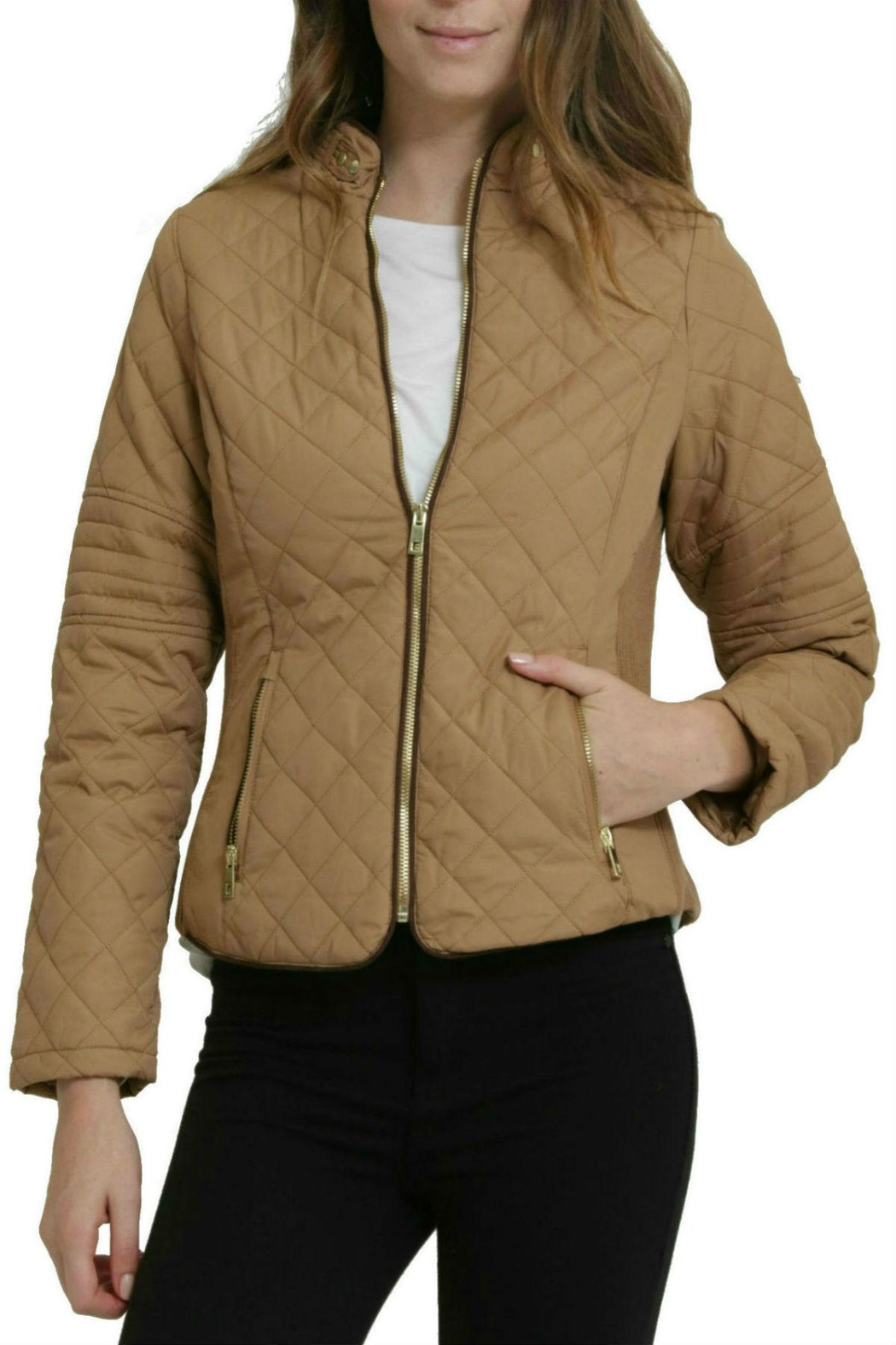 C'ESTTOI Quilted Jacket - Front Cropped Image