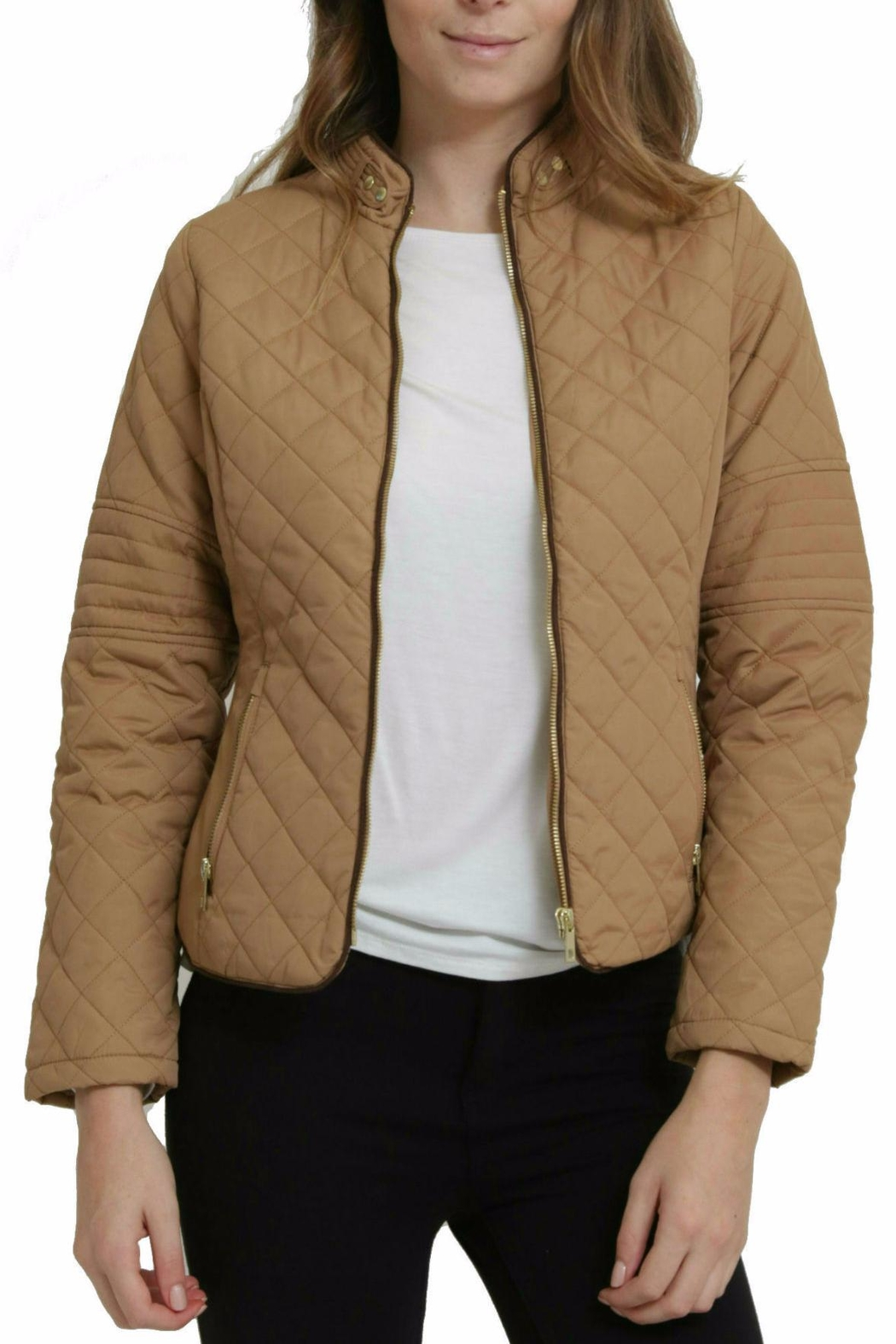 C'ESTTOI Quilted Jacket - Front Full Image
