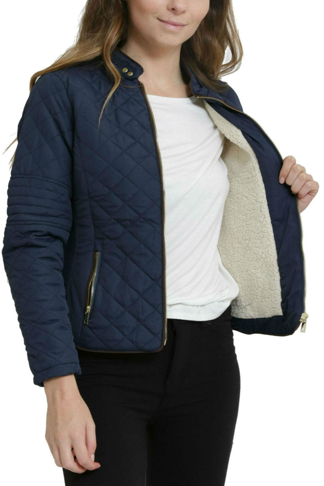 C'ESTTOI Quilted Jacket - Side Cropped Image