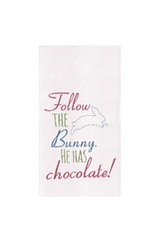 C&F Enterprises Follow-The-Bunny Towel - Product Mini Image