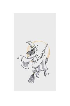 Shoptiques Product: Happy Witch Kitchen Towel