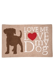 C&F Enterprises I-Love-My-Dog Rug - Product Mini Image