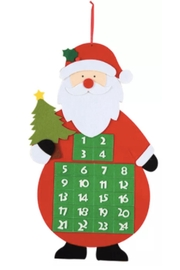 C&F Enterprises Santa Tree & Calendar - Product Mini Image