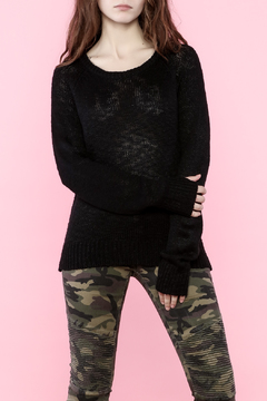 C. Luce Black Sweater - Product List Image