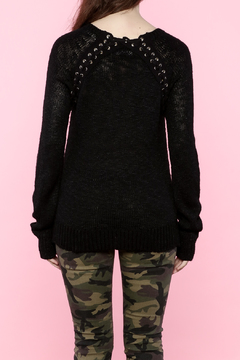 C. Luce Black Sweater - Alternate List Image