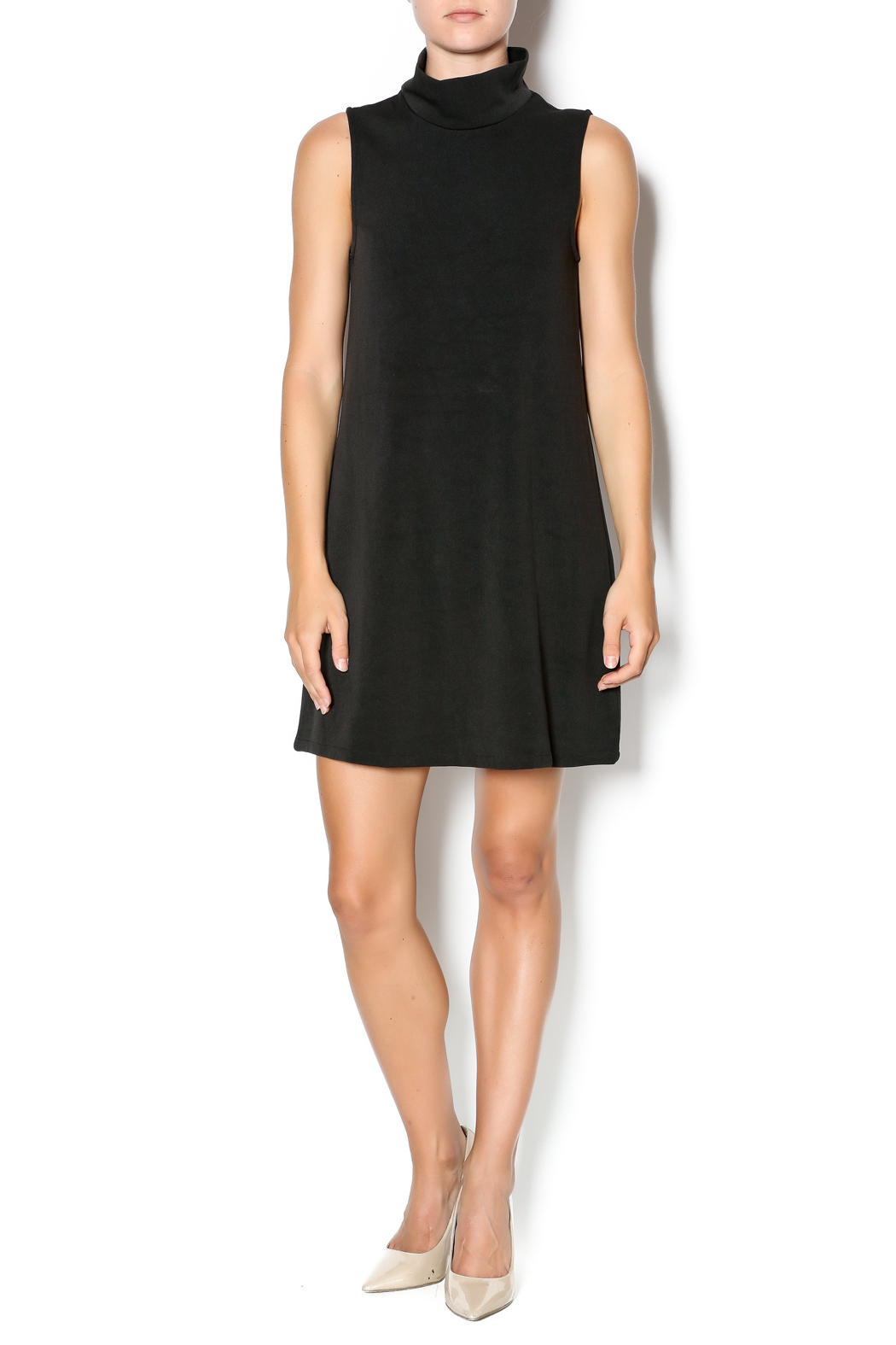 C. Luce Black Turtleneck Sleeveless Dress from Arkansas by ...