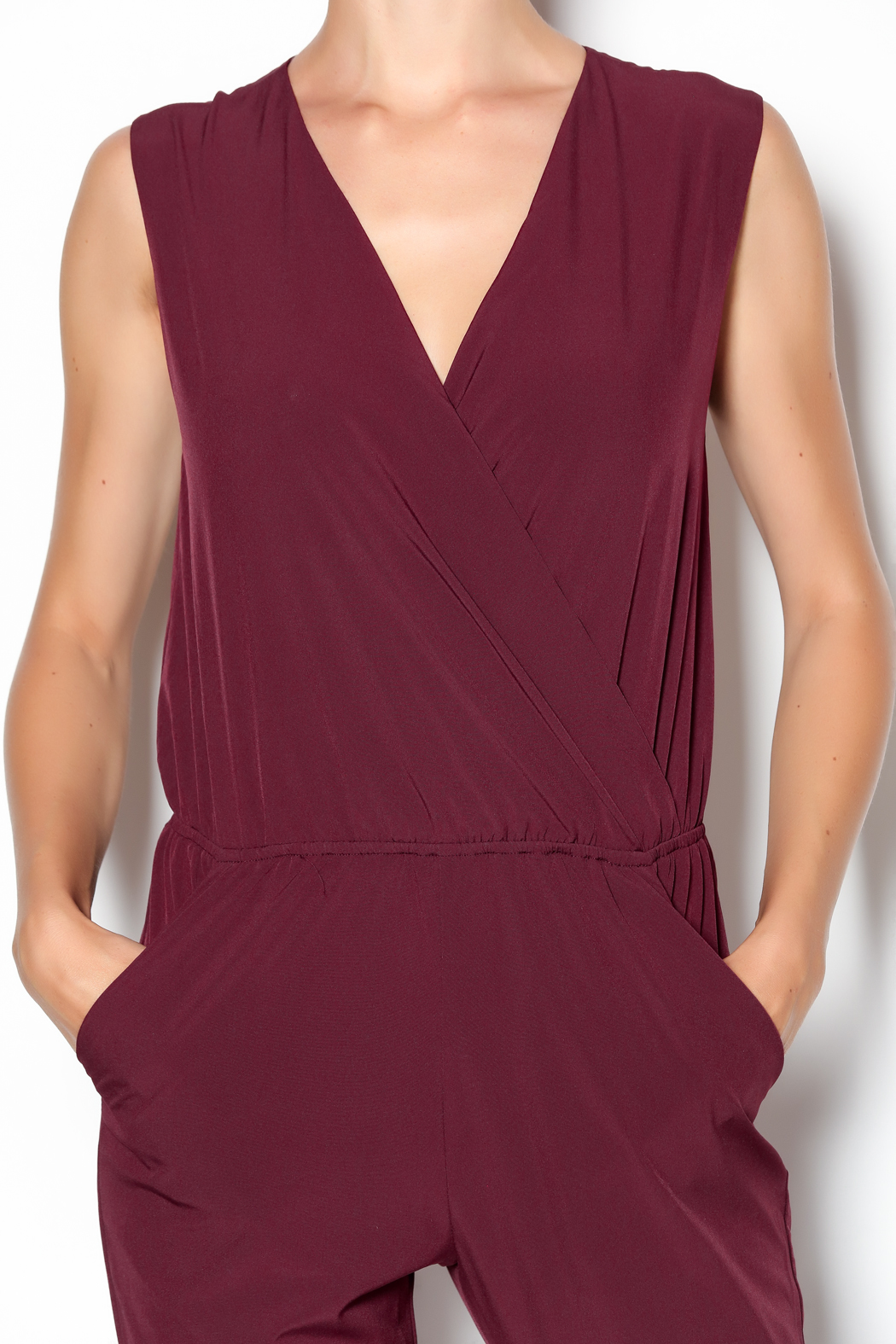 c luce bordeaux jumpsuit from texas by sewn clothing. Black Bedroom Furniture Sets. Home Design Ideas