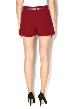 C. Luce Burgundy Shorts - Alternate List Image