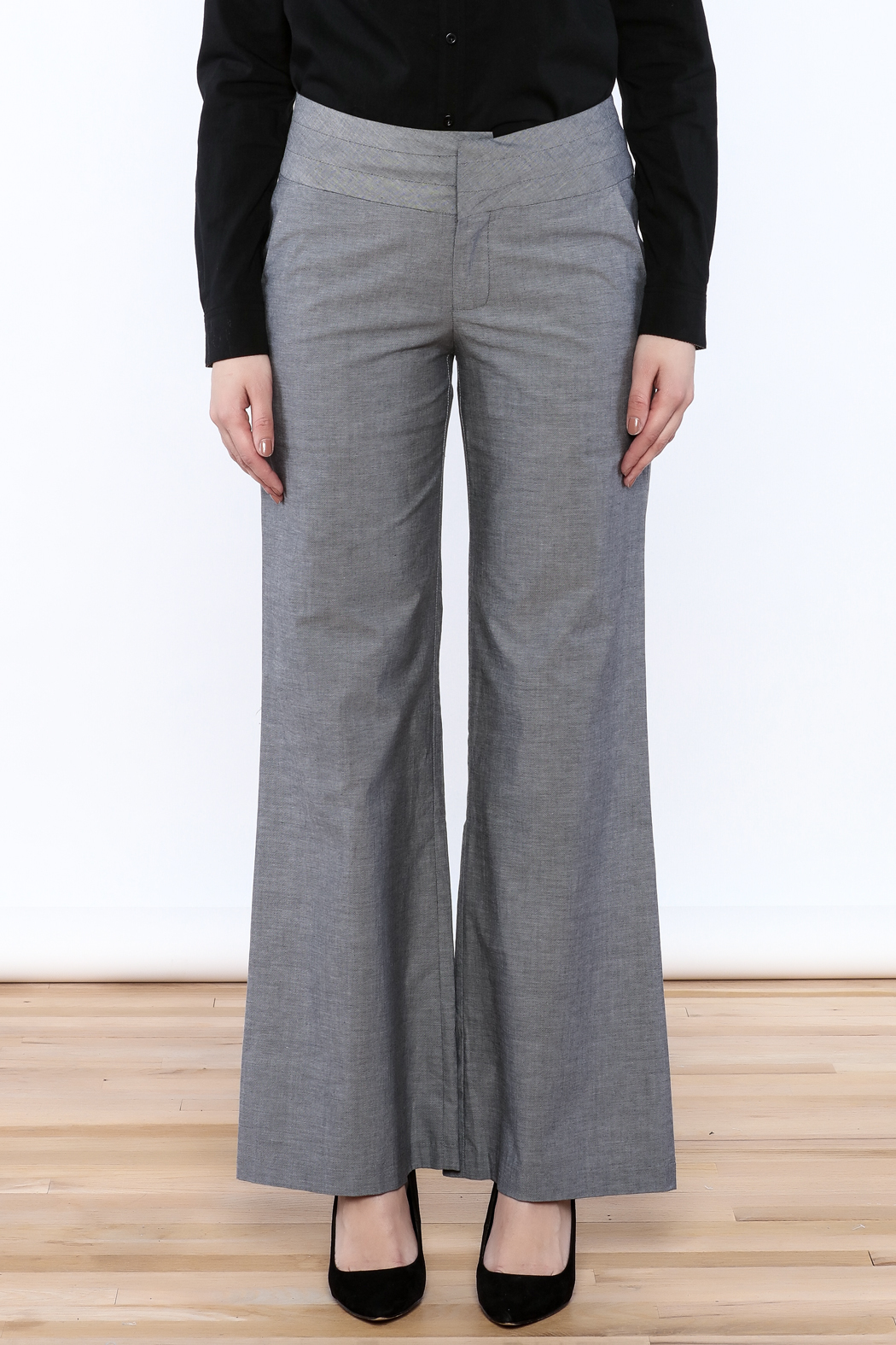 C. Luce Straight Cut Pants - Side Cropped Image