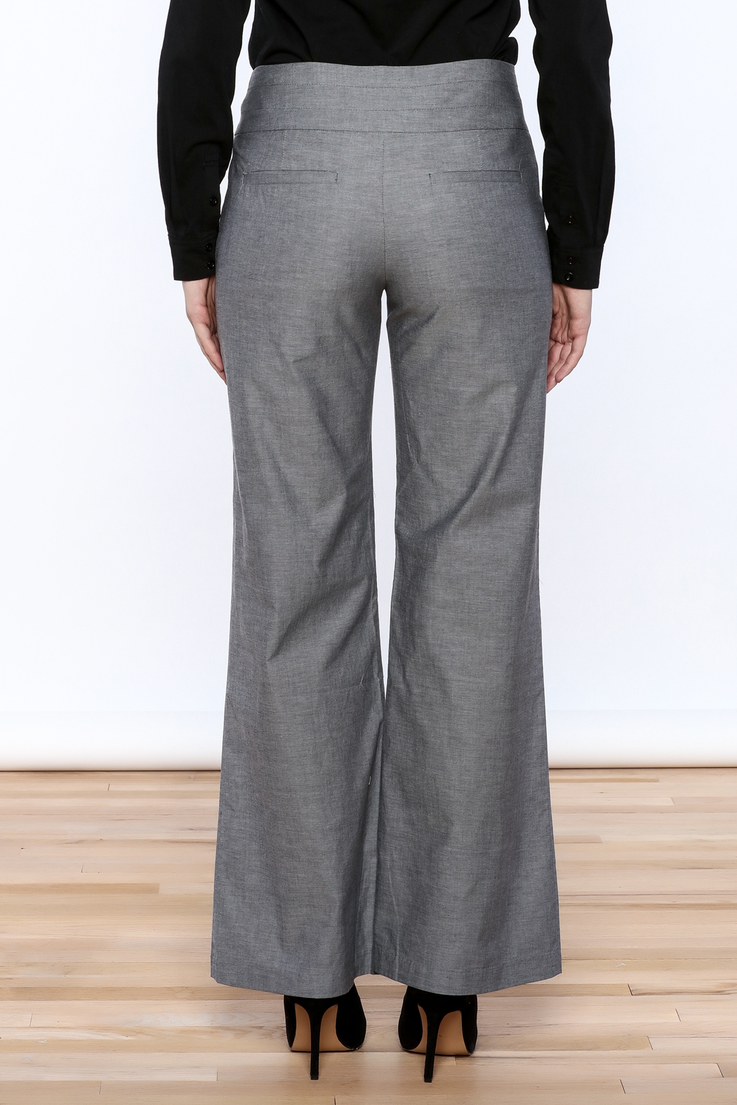 C. Luce Straight Cut Pants - Back Cropped Image