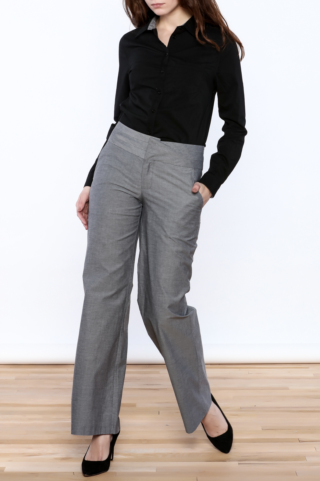 C. Luce Straight Cut Pants - Front Full Image