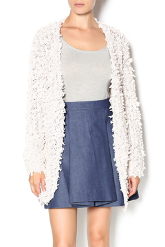 C. Luce Cream Fuzzy Cardigan - Product List Image