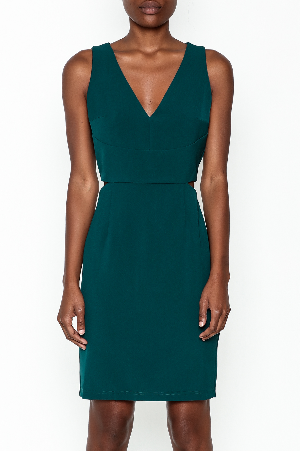 C. Luce Cutout Side Dress - Front Full Image