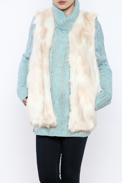 C. Luce Faux Fur Vest - Product List Image
