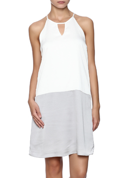 C. Luce Grey White Dress - Product List Image