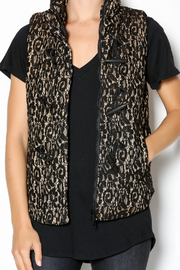 C. Luce Lace Puffy Vest - Other