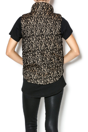 C. Luce Lace Puffy Vest - Back cropped