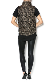 C. Luce Lace Puffy Vest - Side cropped