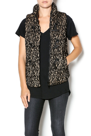 C. Luce Lace Puffy Vest - Product Mini Image