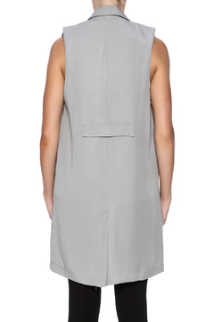 C. Luce Long Grey Vest - Alternate List Image