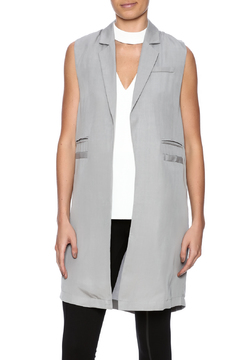 C. Luce Long Grey Vest - Product List Image