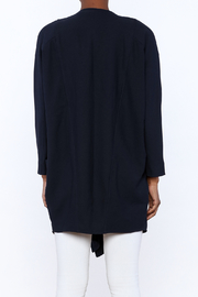 C. Luce Navy Duster Jacket - Back cropped